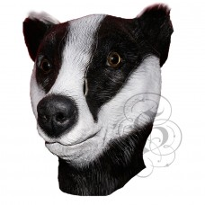 Latex Badger Mask